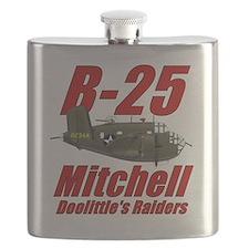 B25 Doolittes RaidersTee Flask