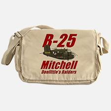 B25 Doolittes RaidersTee Messenger Bag