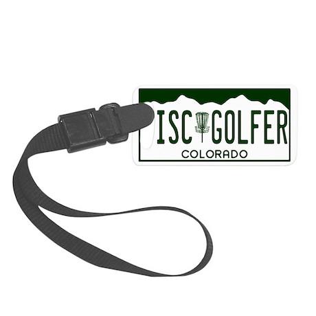 CO-Disc-Golfer Small Luggage Tag
