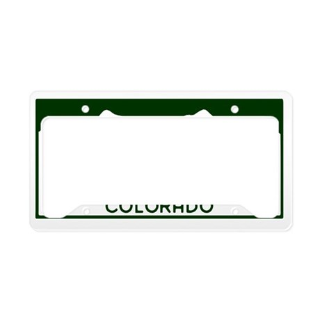 CO-Disc-Golfer License Plate Holder