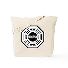 Dharma-Industries-(dark-shirt) Tote Bag