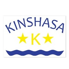 kinshasa Postcards (Package of 8)