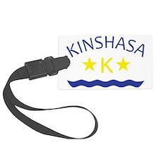 kinshasa Luggage Tag