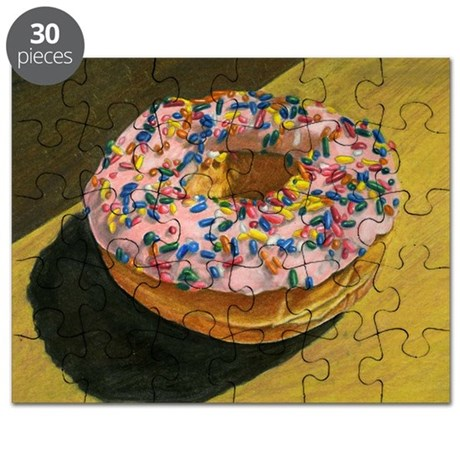 Doughnut with Sprinkles Puzzle