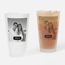 Full Photo with Year Drinking Glass