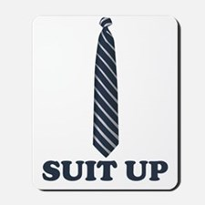 suitup1 Mousepad