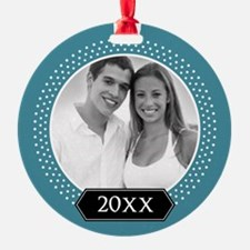 Add Pic and Year Ornament