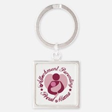 Attachment Mama4 Square Keychain