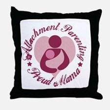 Attachment Mama4 Throw Pillow