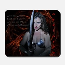 Warrioress Mousepad