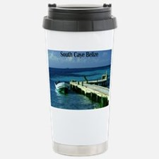 boat dock South Caye Belize200  Travel Mug
