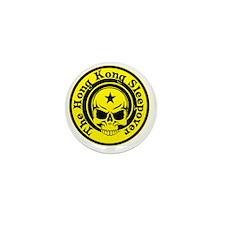 HKSO yellow logo Mini Button