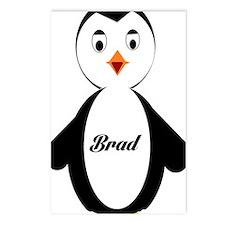 Brad Penguin Postcards (Package of 8)