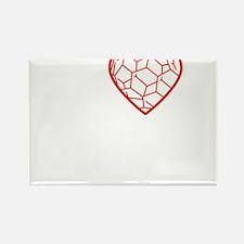 I heart Nano tshirt transparent Rectangle Magnet