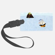 Sailing by the Castle Luggage Tag