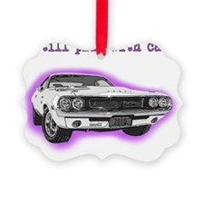 dodge_challenger_purple Ornament