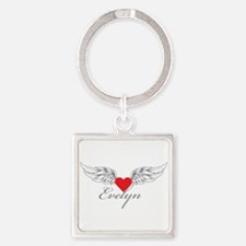 Angel Wings Evelyn Keychains