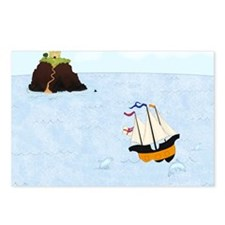 Sailing by the Castle Squ Postcards (Package of 8)