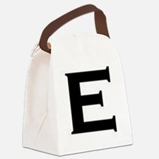E Canvas Lunch Bag