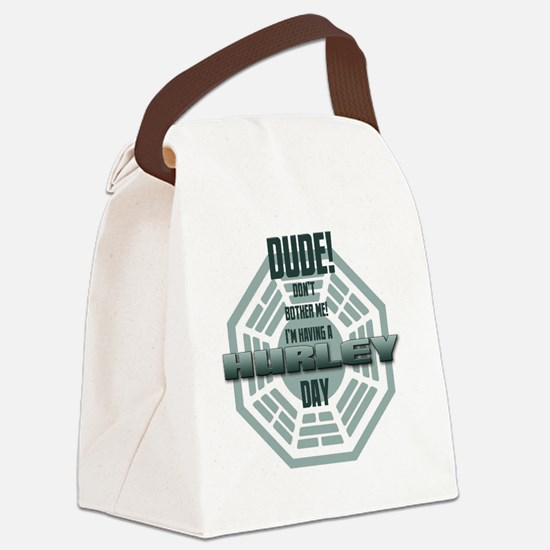 lost_hurley_day Canvas Lunch Bag