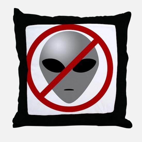 AlienBuster Throw Pillow