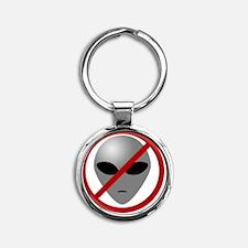 AlienBuster Round Keychain