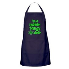 funny nuclear atomic radiation Apron (dark)