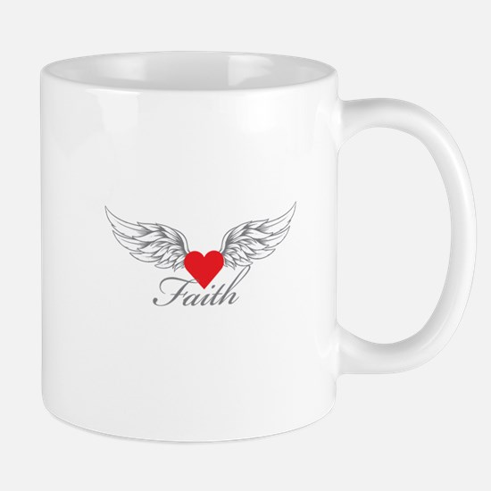 Angel Wings Faith Mugs