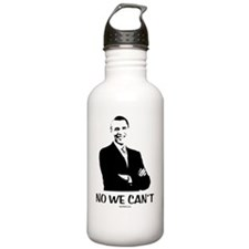 No We Cant Water Bottle