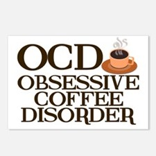 obsessivecoffeedisorder Postcards (Package of 8)