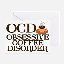 obsessivecoffeedisorder Greeting Card