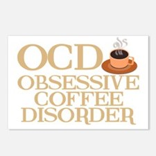 obsessivecoffeedisorderwh Postcards (Package of 8)