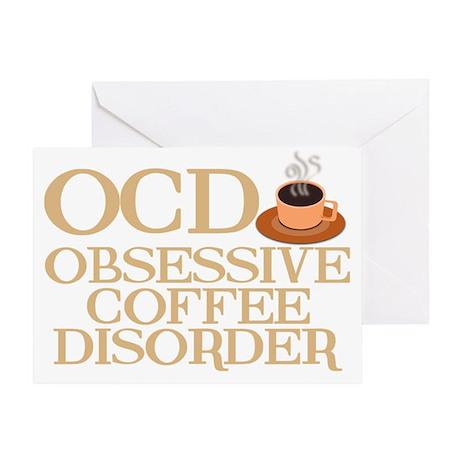 obsessivecoffeedisorderwh Greeting Card