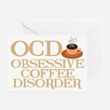 obsessivecoffeedisorderwh Greeting Card