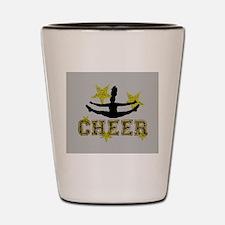 Cheerleader Shot Glass