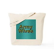 armywivessq Tote Bag