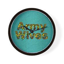 armywivessq Wall Clock