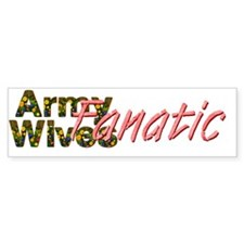 armywivesfanaticcap Bumper Sticker