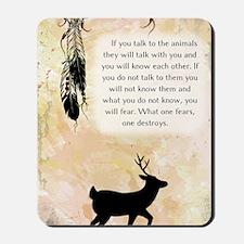nativeamerican_journal_elk Mousepad