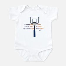 Basketball Love the Game Infant Bodysuit