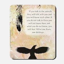 nativeamerican_journal_eagle Mousepad