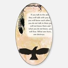 nativeamerican_journal_eagle Decal