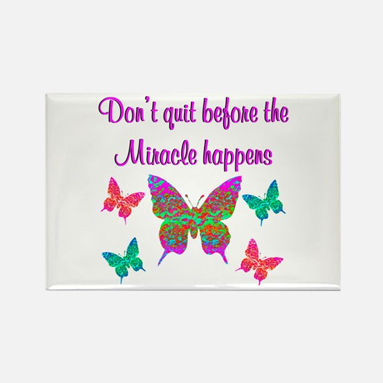 EXPECT MIRACLES Rectangle Magnet