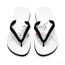 Angel Wings Gabriella Flip Flops