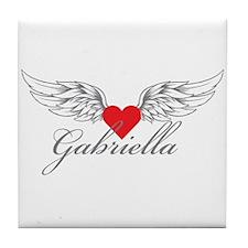 Angel Wings Gabriella Tile Coaster