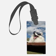 American Eskimo Dog Luggage Tag