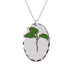 gnd Necklace Oval Charm