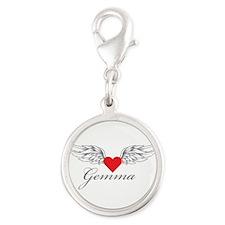 Angel Wings Gemma Charms