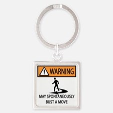 BUST A MOVE Square Keychain