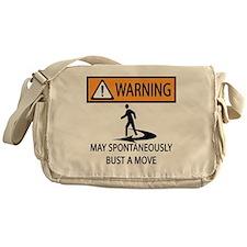 BUST A MOVE Messenger Bag
